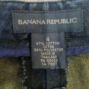 Banana Republic Jeans - Banana Republic Gold Sheen Wide Leg Jeans